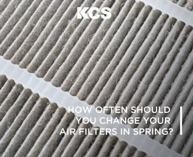 Changing Air Filters in Spring