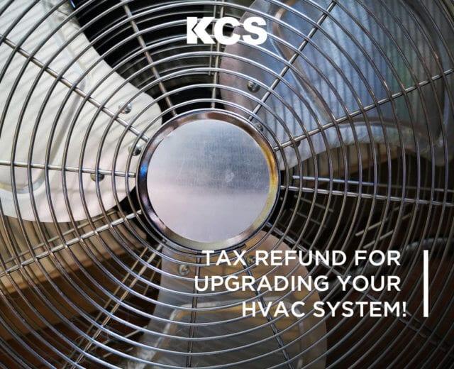HVAC Tax Refunds