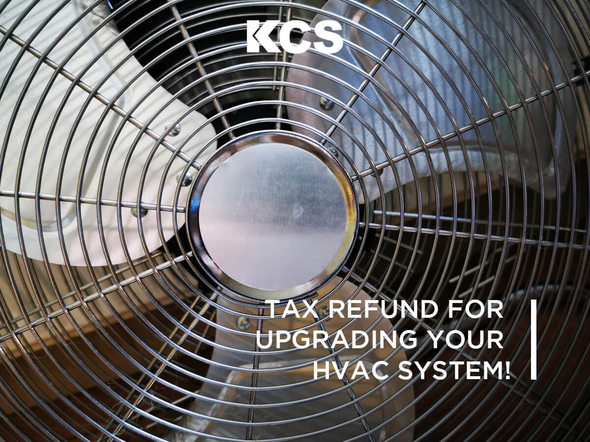 HVAC Tax Refunds